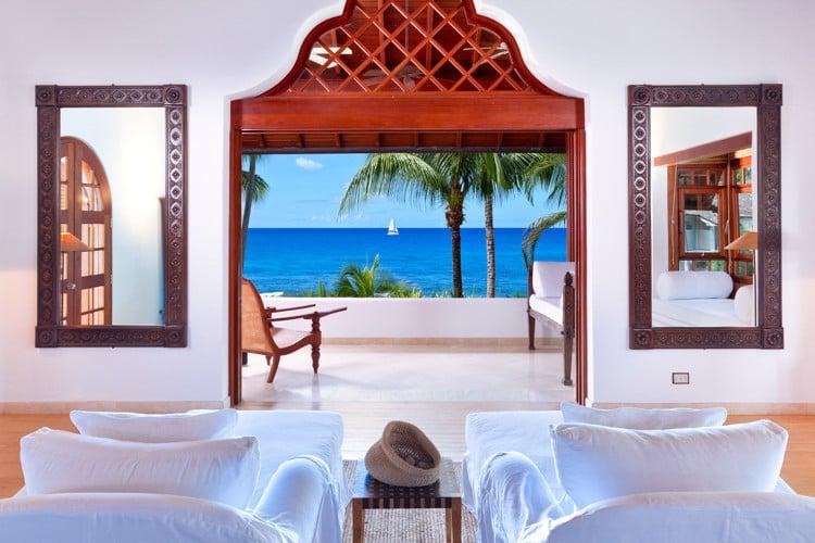Caribbean villas with staff