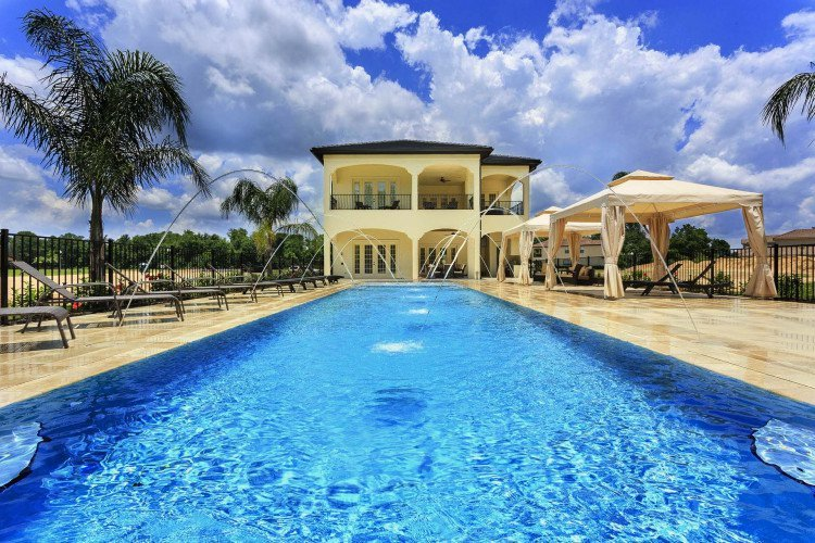 Book one of our great vacation homes and get your own private pool
