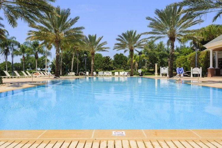 Some of our condos near Disney have private pools