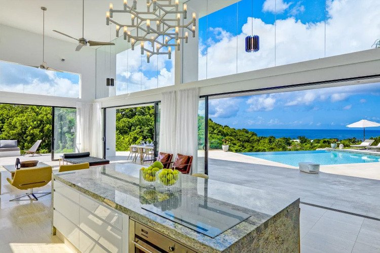 Caribbean vacation rentals with chefs