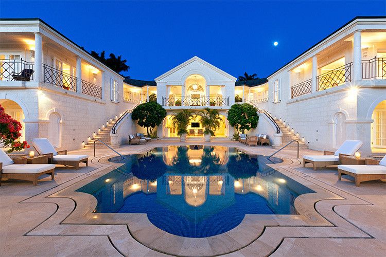 Pool villas in Barbados