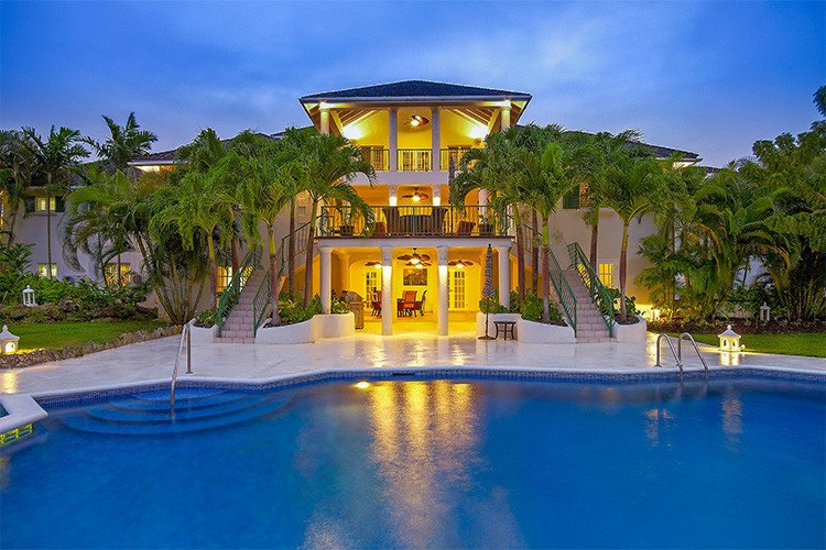 Villas Barbados with pools