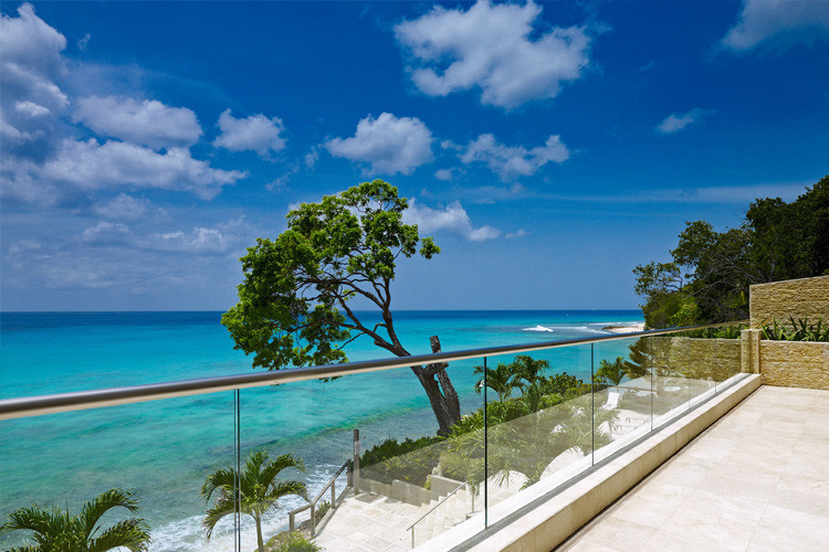Barbados beachfront villas