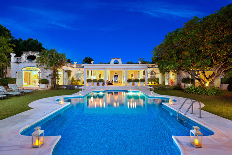 Villas in Barbados with pools