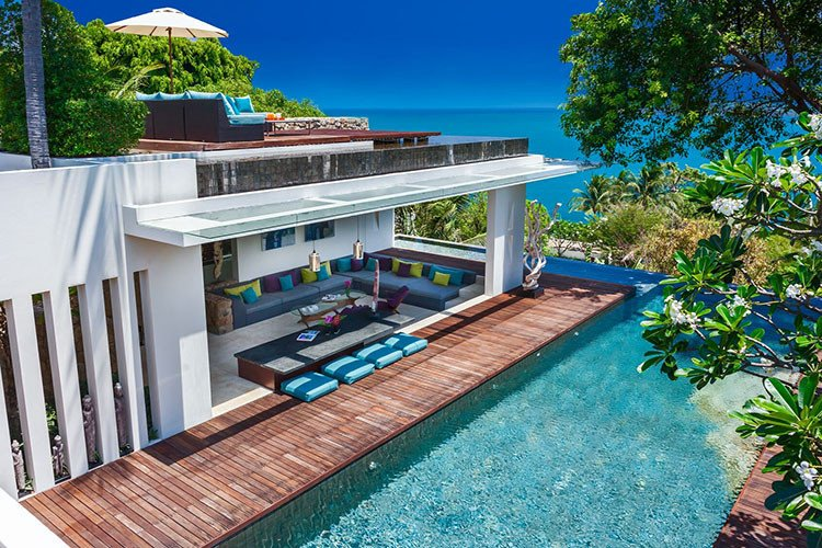 Koh Samui beach villas