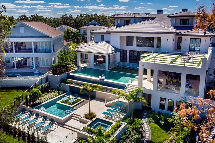 Vacations mansions in Florida