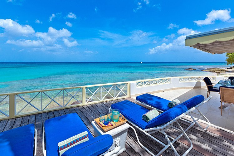 Beachfront villa rentals in the Caribbean