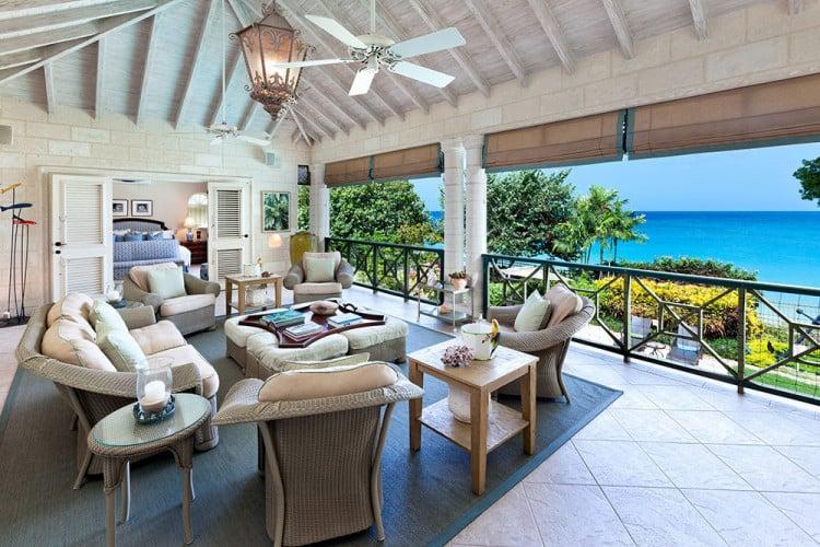 Villas on the west coast of Barbados