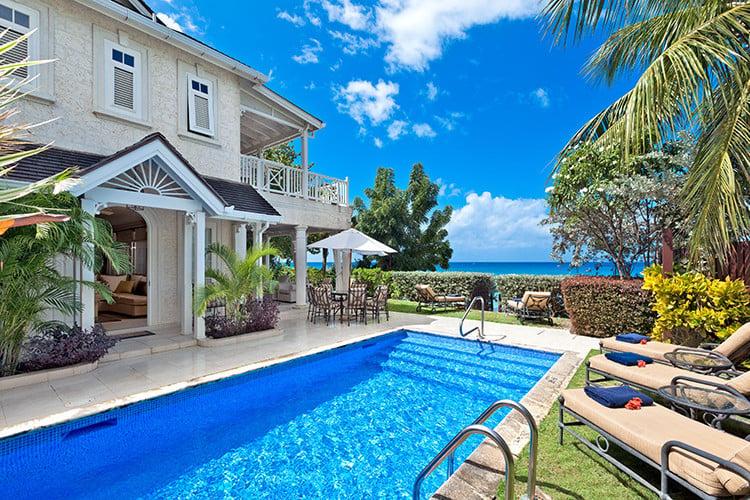 Villa rentals on the west coast of Barbados