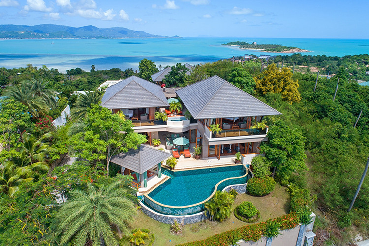 Cheap mansions in Koh Samui